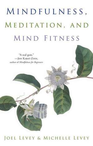 Mindfulness, Meditation, and Mind Fitness imagine