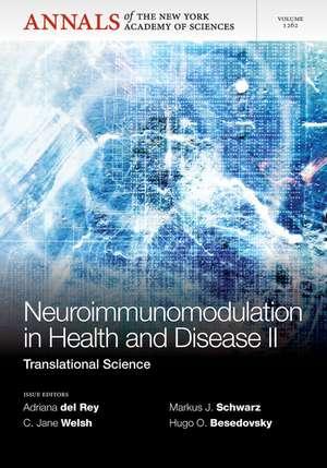 Neuroimunomodulation in Health and Disease II