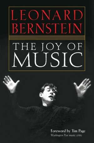 The Joy of Music de Bernstein Leonard