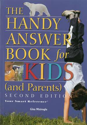 The Handy Answer Book For Kids (and Parents) imagine