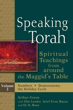 Speaking Torah  Volume 2
