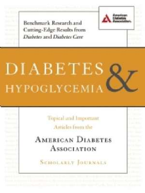 Diabetes & Hypoglycemia