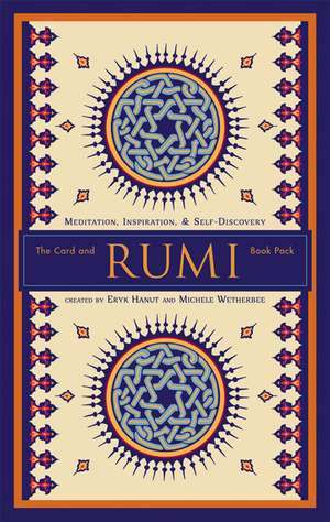 Rumi the Card and Book Pack: Meditation, Inspiration, & Self-Discovery de Eryk Hanut
