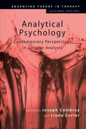 Analytical Psychology:  Contemporary Perspectives in Jungian Analysis de Joseph Cambray