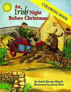 Irish Night Before Christmas Coloring Book, An