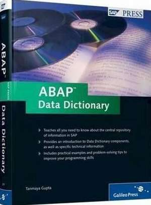 ABAP Data Dictionary de Tanmaya Gupta