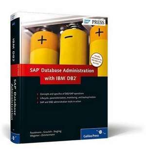 SAP Database Administration with IBM DB2 de André Faustmann