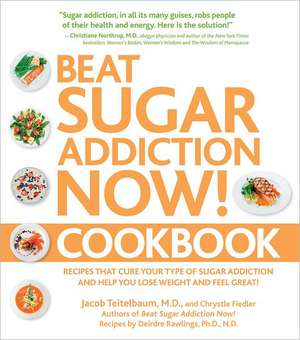 Beat Sugar Addiction Now! Cookbook:  Recipes That Cure Your Type of Sugar Addiction and Help You Lose Weight and Feel Great! de Jacob Teitelbaum