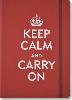 Keep Calm and Carry on Journal [With Elastic Band Place Holder] de Peter Pauper Press