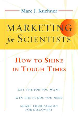 Marketing for Scientists imagine