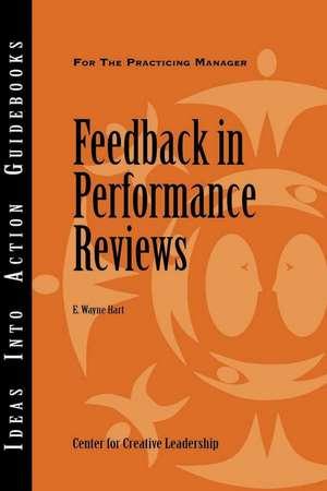 Feedback in Performance Reviews de E. Wayne Hart