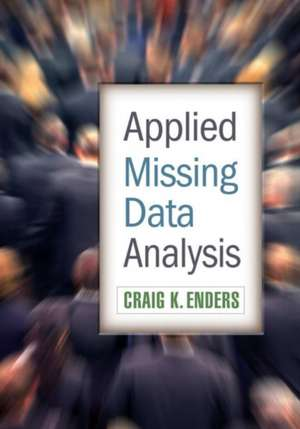 Applied Missing Data Analysis imagine