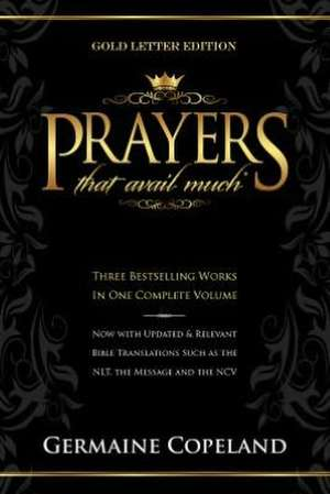Prayers That Avail Much Gold Letter Gift Edition de Germaine Copeland