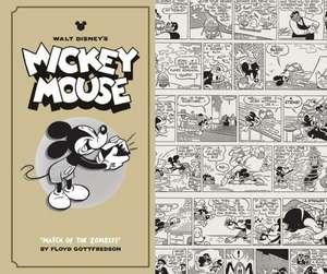 "Walt Disney's Mickey Mouse Vol. 7:  ""March of the Zombies"" de Floyd Gottfredson"