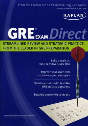 Kaplan: Kaplan GRE Exam Direct