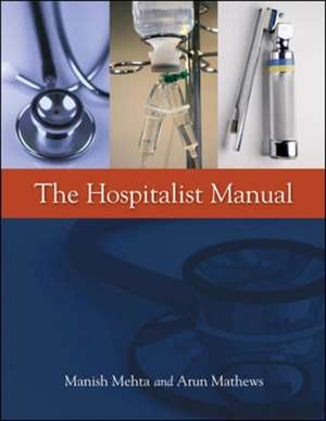 The Hospitalist Manual