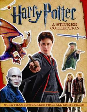 Harry Potter A Sticker Collection de . WARNER BROS. CONSUME