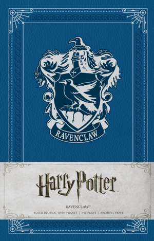 HARRY POTTER: RAVENCLAW HARDCOVER RULED JOURNAL de INSIGHT EDITIONS