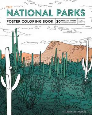 The National Parks Poster Coloring Book de Ian Shive