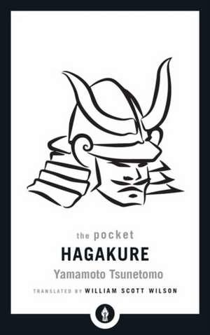 The Pocket Hagakure de Yamamoto Tsunetomo
