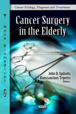 Cancer Surgery in the Elderly