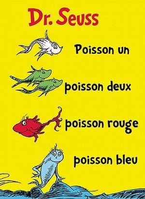 Poisson Un Poisson Deux Poisson Rouge Poisson Bleu