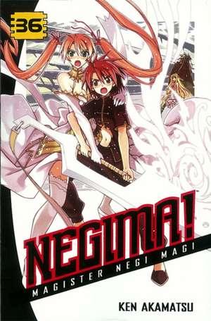 Negima! Magister Negi Magi 36 de Ken Akamatsu