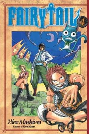 Fairy Tail 4 de Hiro Mashima