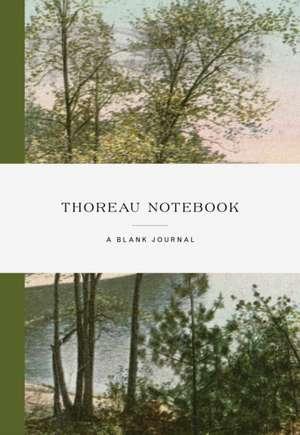Thoreau Notebook imagine