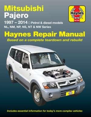 Mitsubishi Pajero (Aus) Automotive Repair Manual de  Haynes Publishing