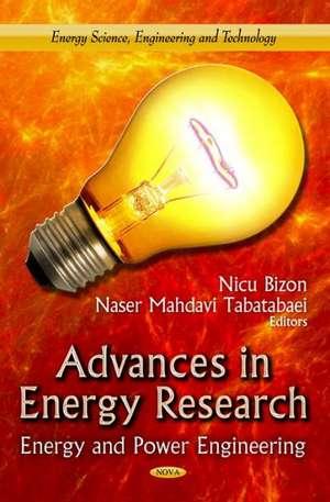 Advances in Energy Research de Nicu Bizon