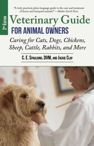 Veterinary Guide for Animal Owners, 2nd Edition