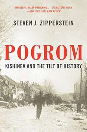 Pogrom – Kishinev and the Tilt of History de Steven J. Zipperstein