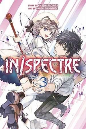 In/spectre Volume 3 de Kyou Shirodaira