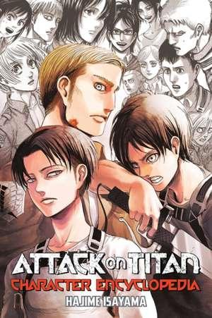 Attack On Titan Character Encyclopedia de Hajime Isayama