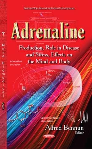 Adrenaline de Alfred Bennun