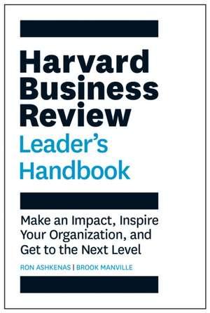 The Harvard Business Review Leader's Handbook de Ron Ashkenas