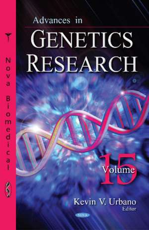 Advances in Genetics Research imagine