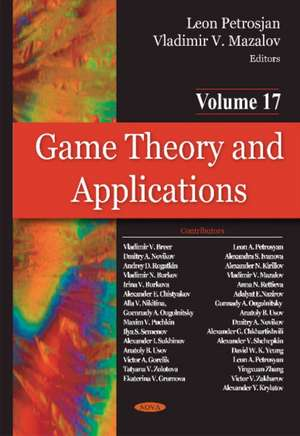 Game Theory & Applications imagine