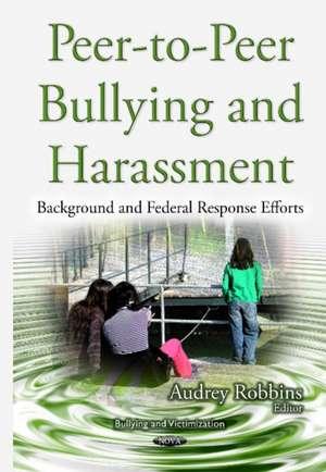 Peer-to-Peer Bullying & Harassment imagine