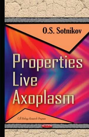 Properties Live Axoplasm imagine