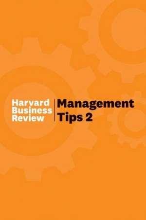 Management Tips 2 de Harvard Business Review
