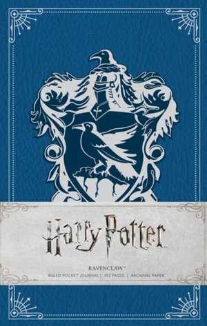 Harry Potter Ravenclaw Pocket Journal (Harry Potter Journals) de INSIGHT EDITIONS