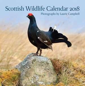 Scottish Wildlife Calendar 2018 de Laurie Campbell