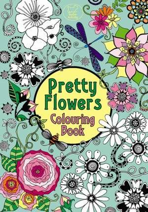 Pretty Flowers Colouring Book de Hannah Davies