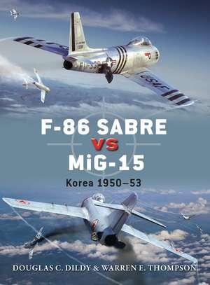 F-86 Sabre vs MiG-15 imagine