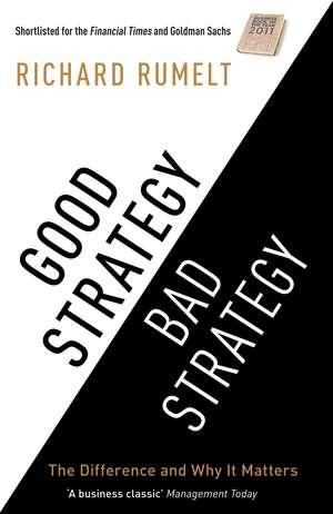 Good Strategy/Bad Strategy imagine