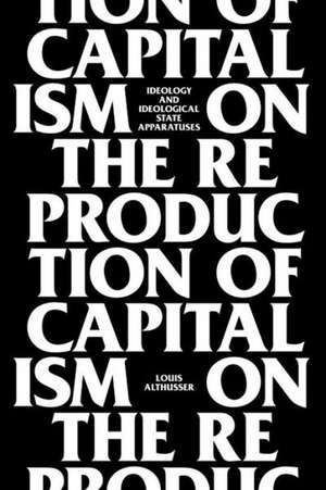 On the Reproduction of Capitalism imagine