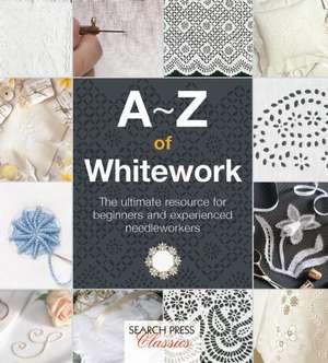 A-Z of Whitework de Country Bumpkin