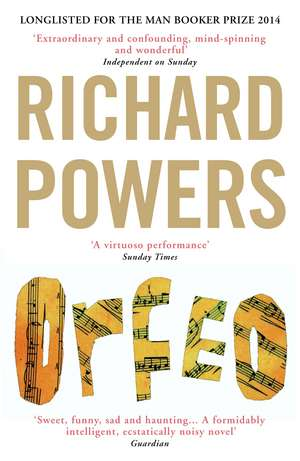 Orfeo de Richard Powers